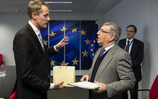 Ministro Ž. Vaičiūno vizito Briuselyje akcentai – atsinaujinanti energetika ir Astravo AE