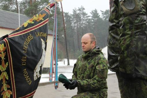Lietuvos didžiojo kunigaikščio Kęstučio bataliono vadu tapo pulkininkas leitenantas Vytis Andreika