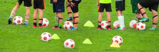 """Trakų rajono priešmokyklinio amžiaus vaikų futbolo turnyras """"Futboliukas"""" tęsiasi!"""