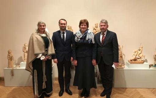 Ministras M. Kvietkauskas lankėsi Lietuvos kultūros sostine tapusiame Rokiškyje