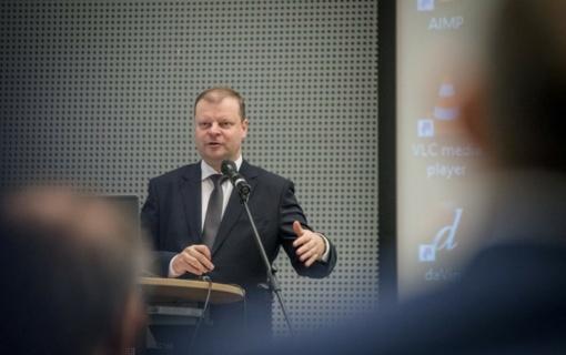 Premjeras: regionuose daugėja investuotojų ir darbo vietų