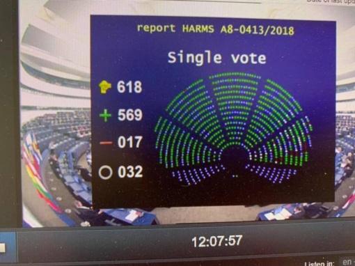 Europos Parlamentas pritaria didesniam Ignalinos AE uždarymo finansavimui (vaizdo įrašas)