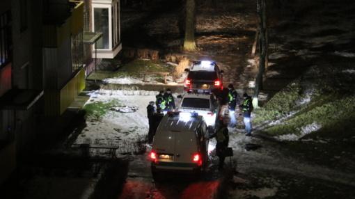 Gėrusius ir triukšmavusius jaunuolius išsivežė policija