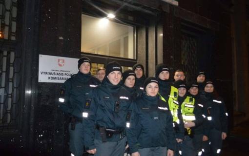Kauno apskrities vyriausiame policijos komisariate lankėsi Lietuvos policijos mokyklos kursantai