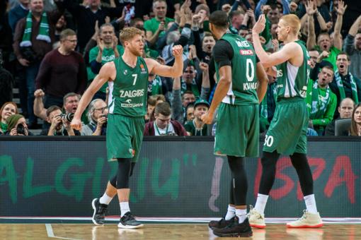 """""""Žalgirio"""" krepšininkai nugalėjo Atėnų ekipą ir nutraukė pralaimėjimų seriją"""