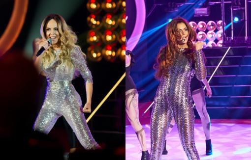 Bendrapavardės A. Kisielienė ir D. Meškaitė-Kisielienė gavo tą pačią užduotį – virsti Jennifer Lopez: kuri panašesnė?
