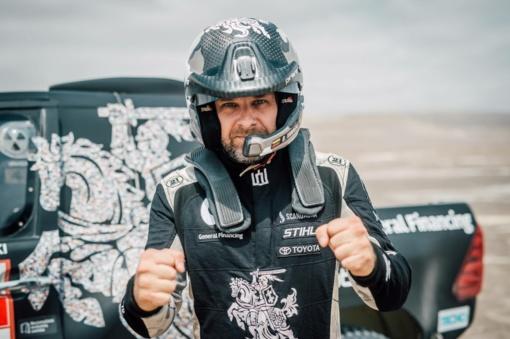 Lenktynininkas B. Vanagas: Dakaro ralio dalyviai nesupranta, kaip mes taip galime