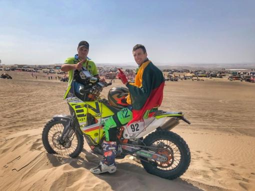 24-ą vietą Dakare užėmęs motociklininkas A. Gelažninkas: manau, kad tai dar ne lubos
