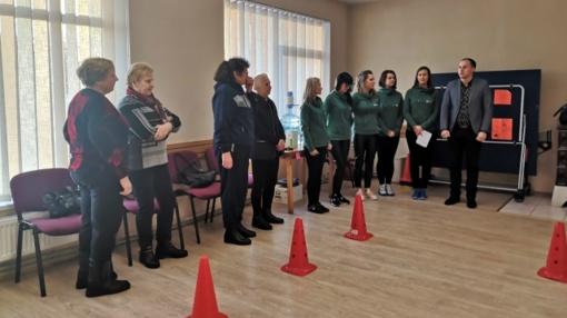 Vyresni Skuodo rajono gyventojai jau dalyvauja sveikatos stiprinimo užsiėmimuose