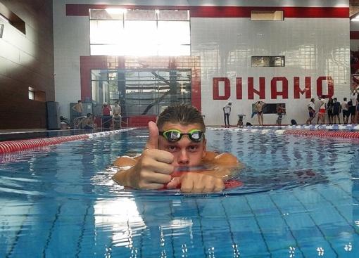 Plaukimo varžybas Belgijoje Danas Rapšys baigė iškovojęs keturis medalius