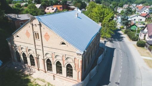 Sinagogos pastato pritaikymas miesto gyventojų kultūros reikmėms