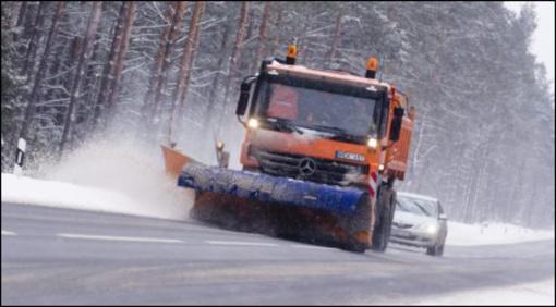 Rajoninių kelių priežiūra žiemą