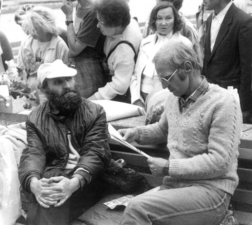 Mirė žinomas disidentas Petras Cidzikas