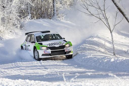 """Vaidotas Žala artėjantį savaitgalį dalyvaus """"Winter Rally"""" Utenoje"""