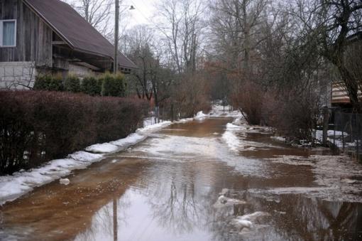 Situacija Vakarų Lietuvos upėse: vandens lygis kilo Gėgės upėje