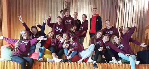 Atveriame duris į Trakų Vytauto Didžiojo gimnazijos mokinių tarybos susirinkimą