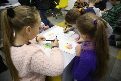 Naujos edukacinės pamokos bibliotekos Multicentre