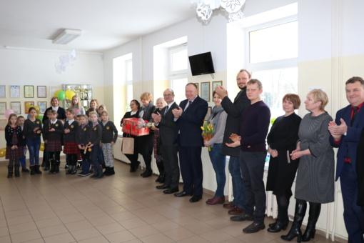 Druskininkų savivaldybės Leipalingio bendruomenės Vaikų ir paauglių dienos užimtumo centro atidarymas
