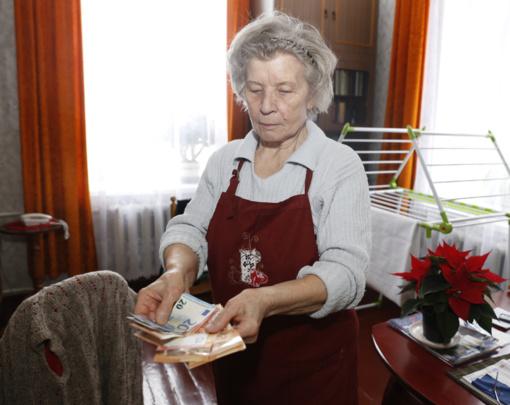 Tyrimas: lietuviai įvardino juos tenkinančios pensijos dydį