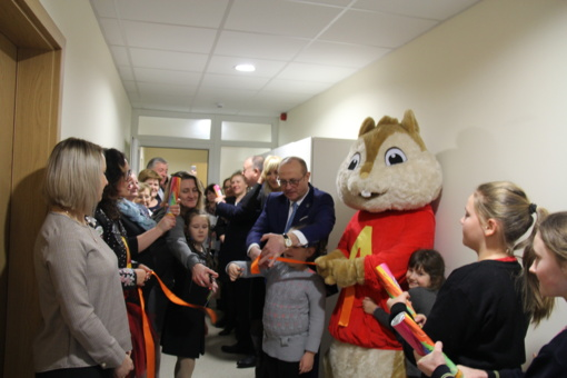 """Viečiūnų bendruomenės """"Versmė"""" namuose atidarytas Vaikų dienos užimtumo centras"""