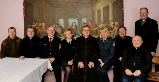 Molėtų rajono policijos komisariato pareigūnių susitikimas su dvasininkais