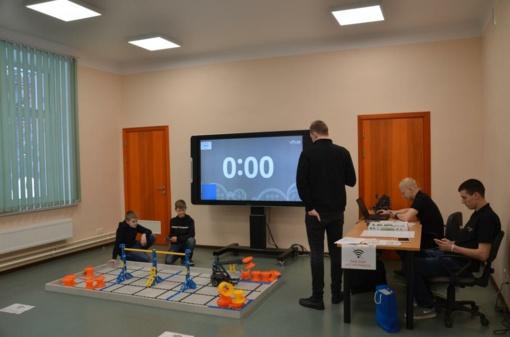 Robotika Šiaulių Dainų progimnazijoje