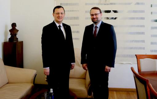 Kultūros ministras: Lietuva suinteresuota bendradarbiavimu su Turkijos archyvais