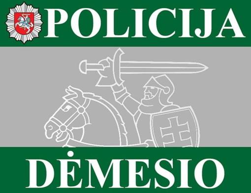 Policija imasi ir netradicinių priemonių prieš neatsakingus ir chuliganiškai vairuojančius asmenis.