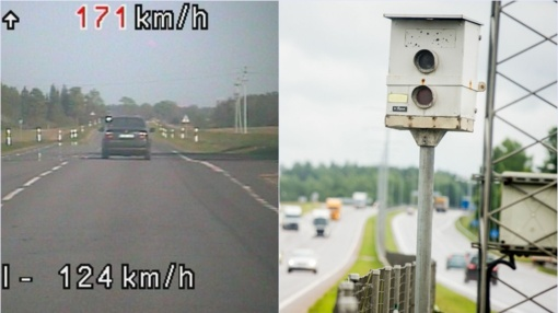 Valstybinės reikšmės keliuose išjungiami stacionarūs greičio matuokliai