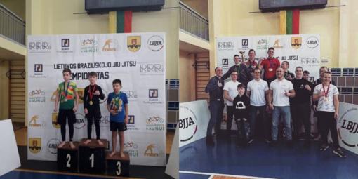 Lietuvos Braziliškojo Jiu-Jitsu No Gi čempionate - jonaviečio pergalė