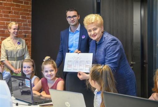 Alytuje – unikali technologinį vaikų raštingumą skatinanti iniciatyva