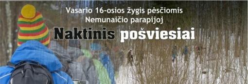 """Vasario 16-ąją – pėsčiųjų žygis po partizanišką Nemunaičio parapiją su """"Olita-Orany"""""""