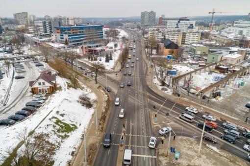 Vilniuje bus rekonstruotos dvi svarbios sankryžos