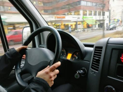 Kupiškio rajone sulaikytas neblaivus krovininio automobilio vairuotojas