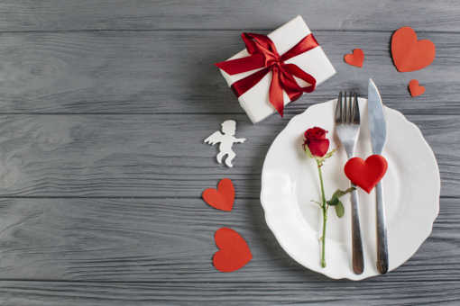 Idėjos Valentino dienos vakarienei