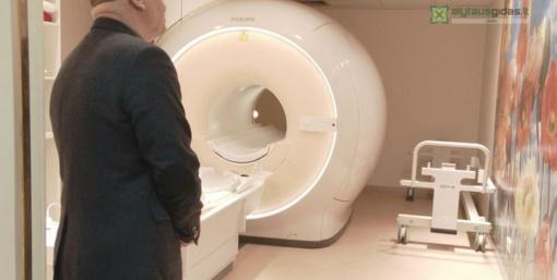 Naujas tomografas Alytaus ligoninėje jau veikia (vaizdo įrašas)