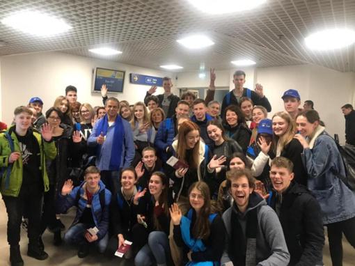 Marijampolės moksleiviai išvyko į Izraelį