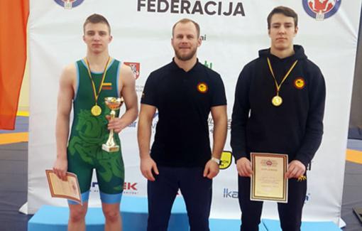 Radviliškiečiams – sėkmingas 2019 metų Lietuvos jaunimo imtynių čempionatas