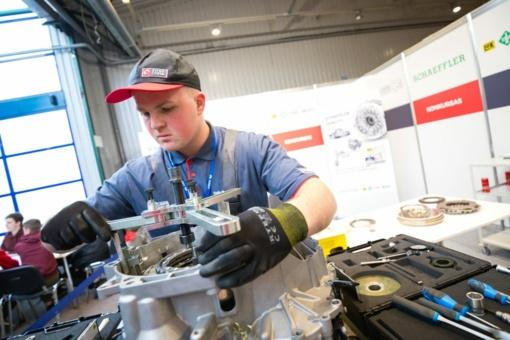 Geriausias jaunasis automechanikas – Rokiškyje