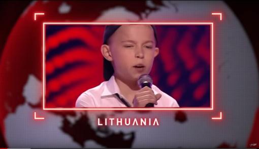 """""""Lietuvos balsas. Vaikai"""" projekte Donato Montvydo komandos dalyvis sulaukė tarptautinio pripažinimo"""