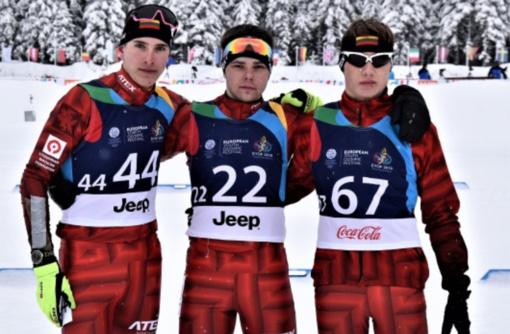 Europos jaunimo olimpiniame žiemos festivalyje - biatlonininkų ir kalnų slidininkių startai