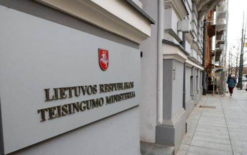 Europos teisės departamentas bus prijungtas prie Teisingumo ministerijos