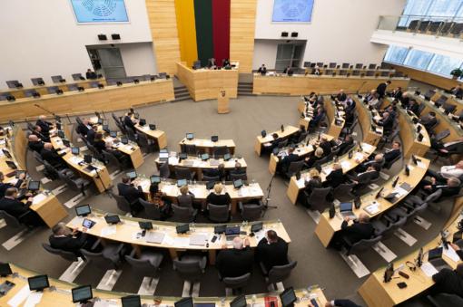 Seimas pritarė referendumui dėl Seimo narių skaičiaus mažinimo