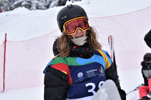 Snieglentininkas M. Morauskas iškovojo Europos jaunimo olimpinio festivalio sidabrą