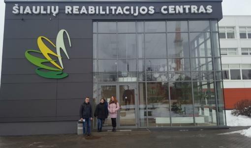 Pažintis su Šiaulių Reabilitacijos centru