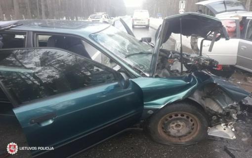 Per savaitę avarijose sužeisti 55 žmonės