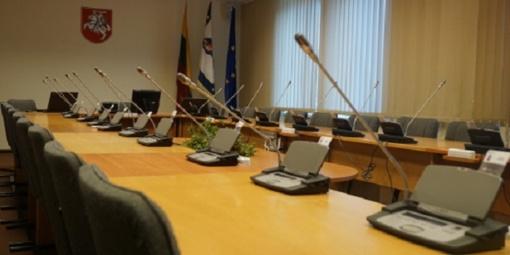 Vasario 21 dieną – 45-asis Kretingos rajono savivaldybės tarybos posėdis