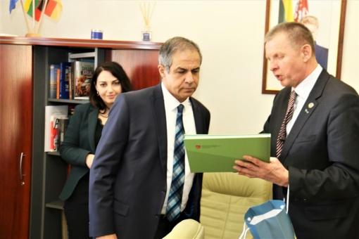 Tauragėje viešėjo Izraelio ambasadorius Lietuvoje