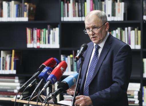 V. Andriukaitis dalyvaus Prezidento rinkimuose