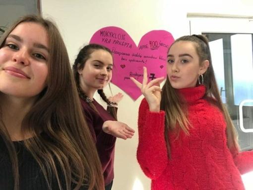 Švento Valentino diena Lieporių gimnazijoje